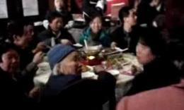爷爷八十大寿设宴18桌视频(二)
