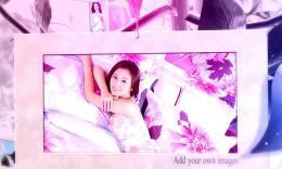 震撼唯美婚礼片头相册紫色梦之树