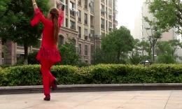 阿梅博彩官网健身舞:《又见山里红》