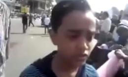 年仅12岁的埃及少年阿里·艾哈迈德谈社会不公、谈政治丑恶、谈议会无效、谈宪法虚妄、谈革命未成、谈妇女歧视,谈政教勾结,各种谈笑风生。。少年,来我大天朝做政委吧